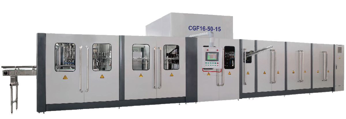 CGF Series Combined Blowing Filling and Capping3-in-1 Machine