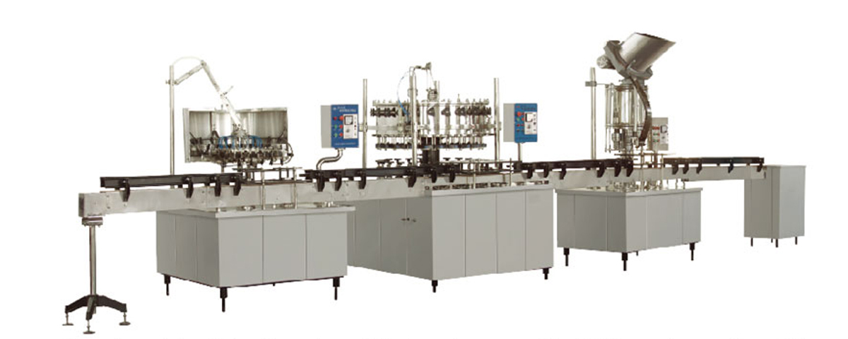 Auto Rinsing Filling Machine for Carbonated Drink