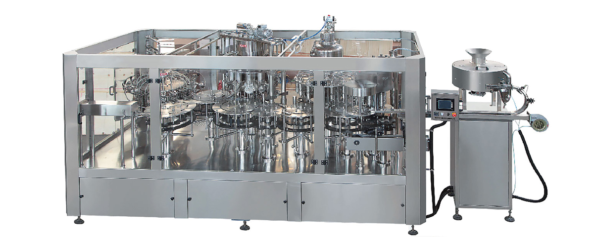 CRGGF Series Filling Machine for Juice with Pulp