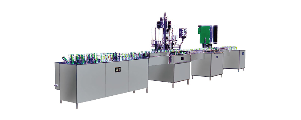 Non Carbonated Canned Drink Filling Line